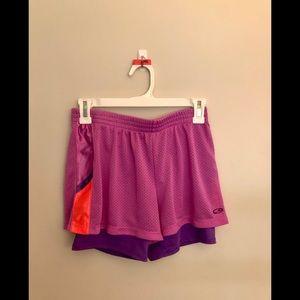 Champion Pink & Purple Athletic Shorts